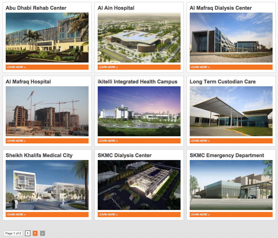 Allen Shariff Middle East North Africa Portfolio